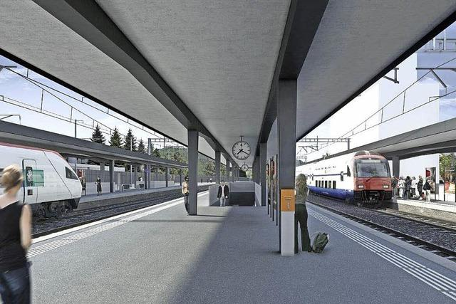 Neuer Bahnhof für Liestal