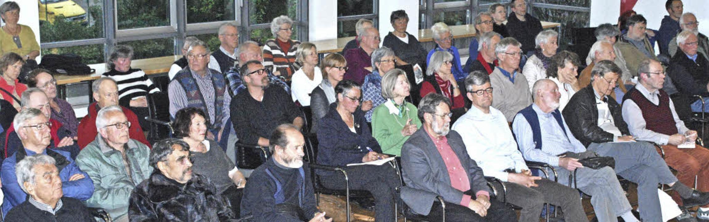 So viele Zuhörer wie bei der Debatte u...itzmatten hat der Gemeinderat selten.   | Foto: Sylvia-Karina Jahn