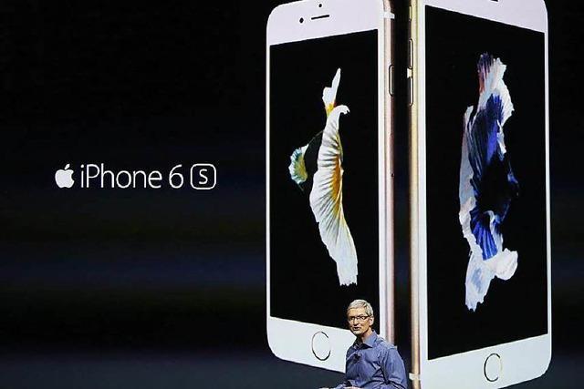 Rückgang der iPhone-Verkäufe drückt Umsatz und Gewinn bei Apple