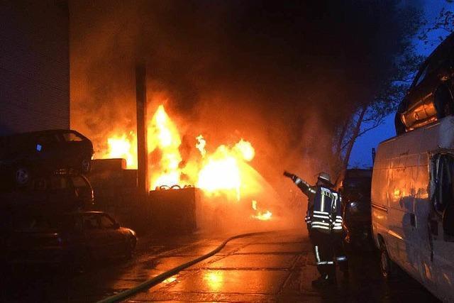 Brand in Malterdingen: Polizei geht von Selbstentzündung aus