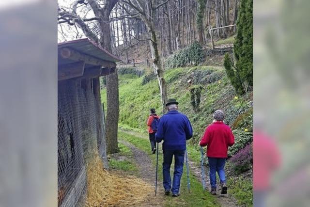 Unterwegs auf dem Schnapsbrunnenpfad