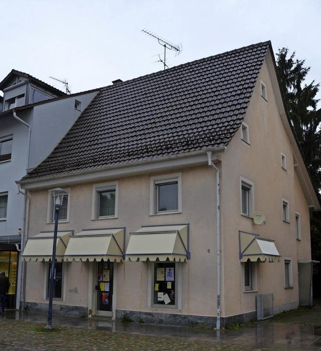 Das Schieß-Haus am Lammplatz würde abgerissen werden.  | Foto: Vogt