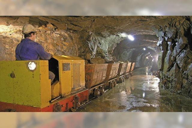 Saisoneröffnung Museums-Bergwerk