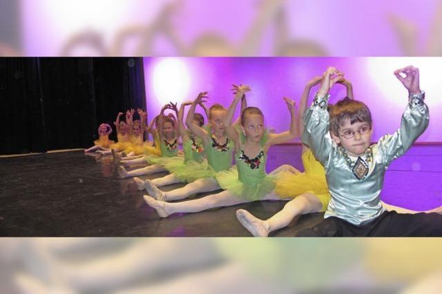 Turnen, Jazz und Ballett