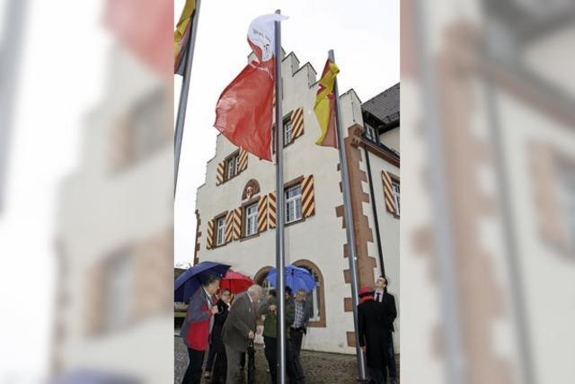 Friesenheim und Heiligenzell zeigen Flagge fürs Jubiläum