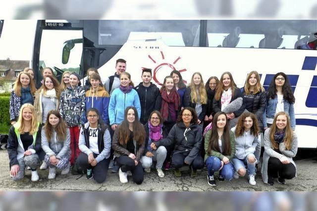 Zum Schüler-Austausch in die Bretagne