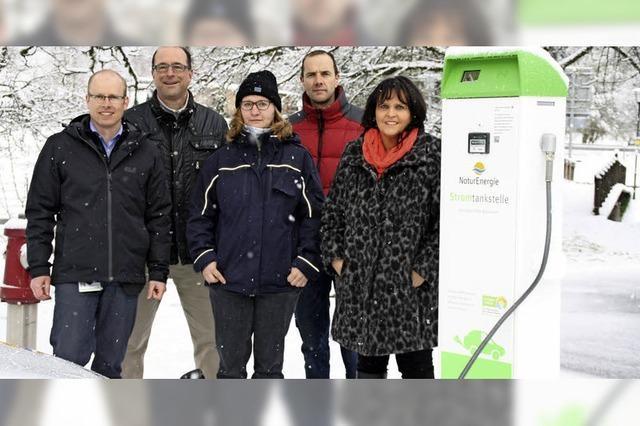 E-Tankstelle für Todtmoos