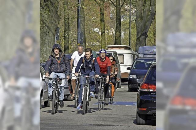 Radler: Schwedische Studie zu Verkehrsflächen in Freiburg