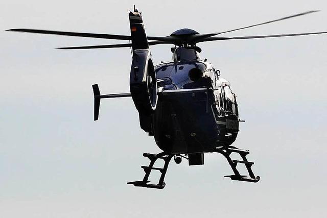 Hubschraubersuche in Freiburg nach Vermisster beendet