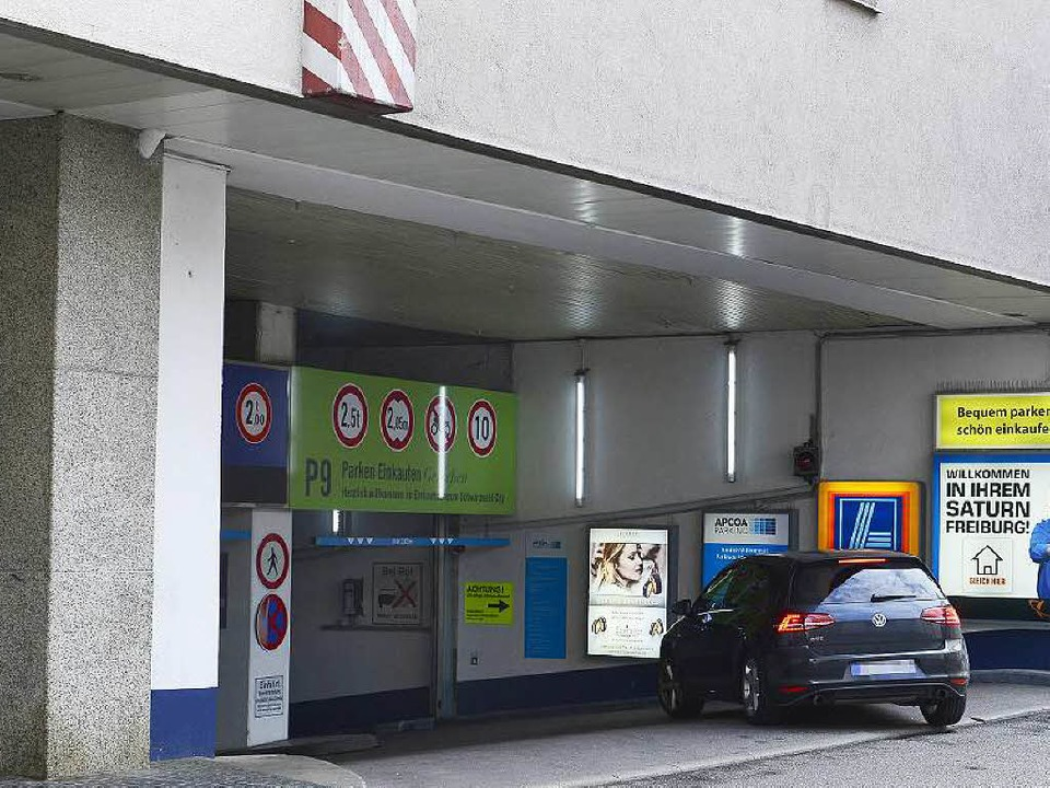 <ppp> sowie die Garage in der Schwarzwaldcity <ppp></ppp></ppp>  | Foto: Ingo Schneider