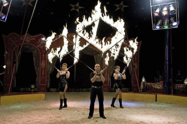 Circus Montana gastiert in Titisee-Neustadt
