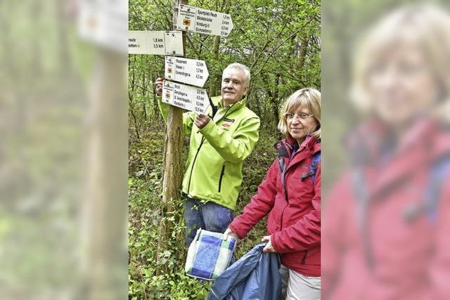 Digitale Schatzsucher im Stadtwald