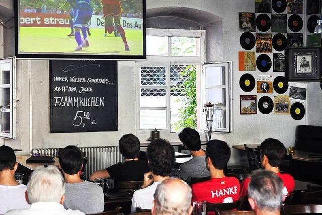 Freiburgs Fußballkneipen werden heute voll