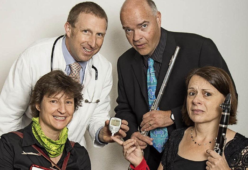 Das Onkel-Doktor-Quartett gastierte in Elzach.     Foto: Emanuel Jauch