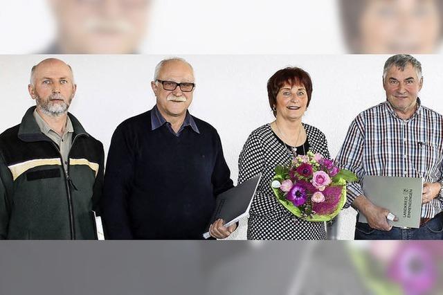 Auszeichnung für 40 Jahre im öffentlichen Dienst