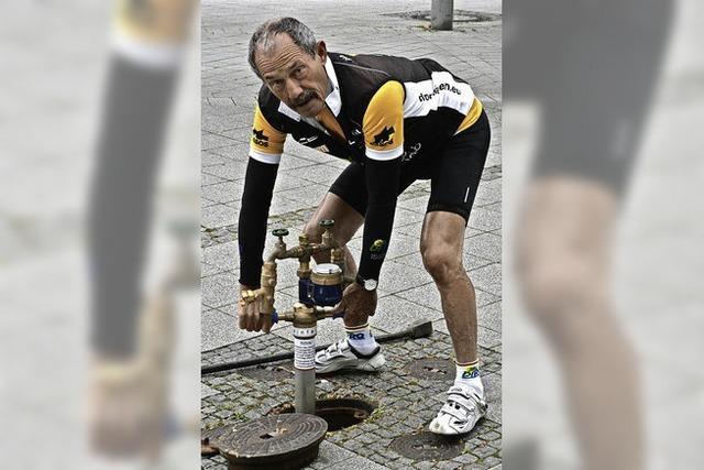 Alois Stöcklin: Radeln für einen guten Zweck