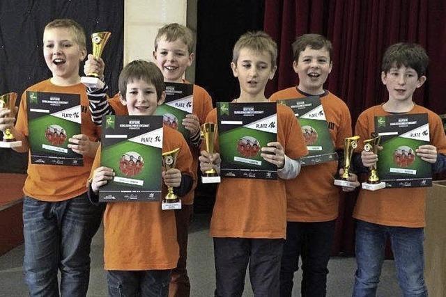 Schach-Schüler belegen Rang 16 in Deutschland