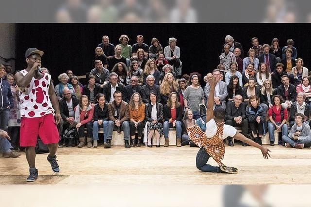 Freiburger Festival Tanz und Theater: Da prallt etwas aufeinander