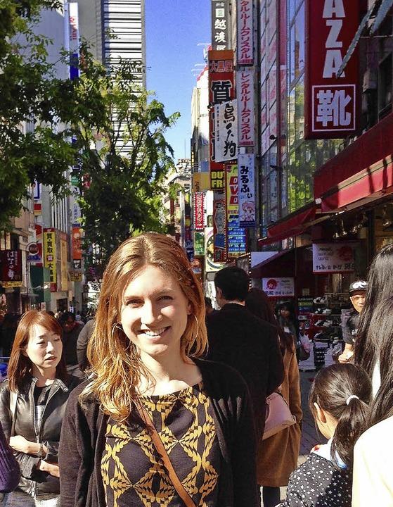 Lisa Murken in Tokio   | Foto: BZ
