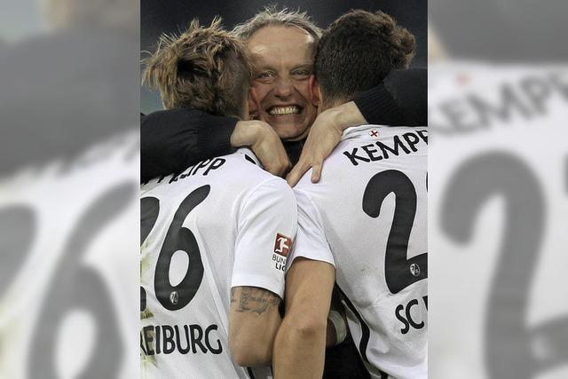 Beim SC Freiburg kehrt das Glück endgültig zurück