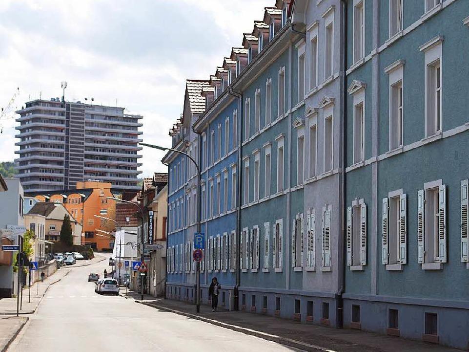 In Lörrach gibt es viel zu wenig  prei... Wohnungen wie die in der Teichstraße.  | Foto: Thomas Loisl Mink