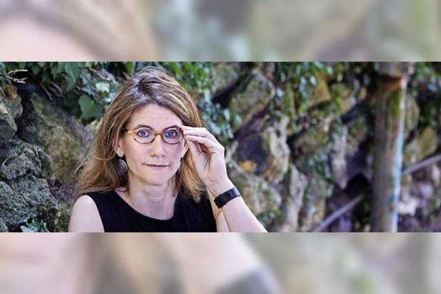 Anna Katharina Hahn liest in der Rainhof Scheune in Kirchzarten-Burg