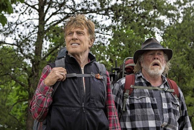 Filmkomödie zeigt zwei Renter auf 3.500 Kilometer langen Wanderweg durch die USA