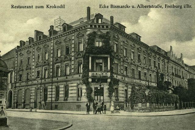 Einstige Gaststätte im Quartier Neuburg wurde beim Bombenangriff 1944 zerstört
