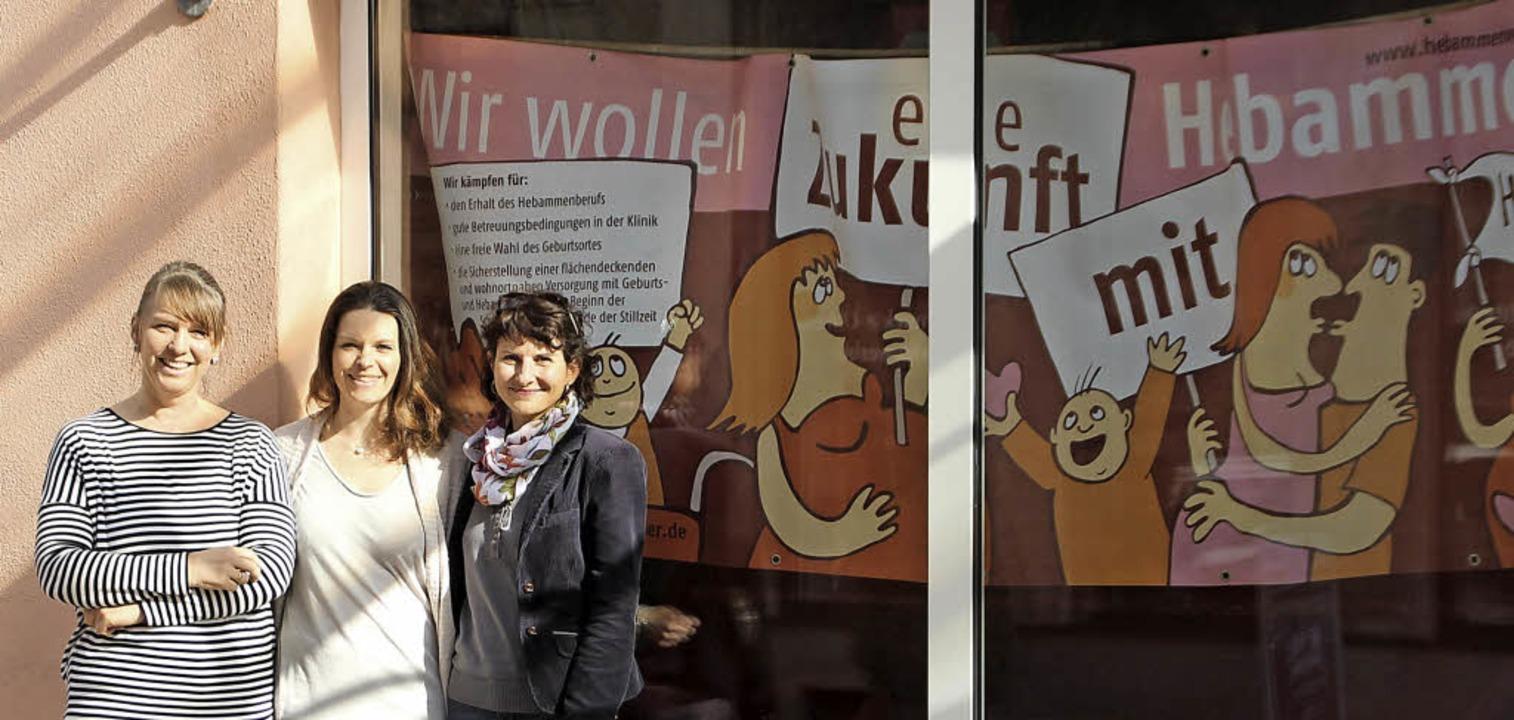 Die Hebammengemeinschaft Ettenheim mac...r de Ramos und Marion Weber-Dieterle.   | Foto: Erika Sieberts