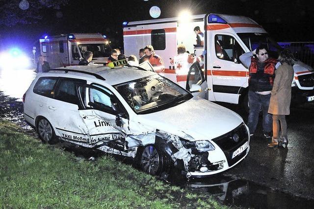 Schwere Unfälle mit Verletzten