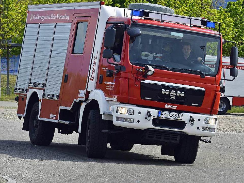 Auch in Stresssituationen müssen Feuer...te ihr Fahrzeug unter Kontrolle haben.  | Foto: Michael Bamberger