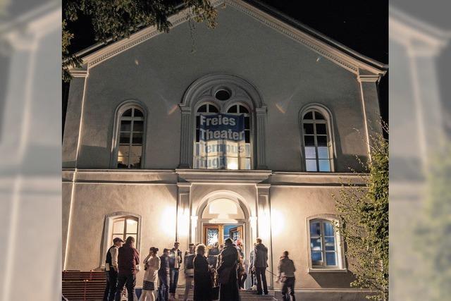 Am Wochenende wurde das Theater von Tempus fugit eröffnet