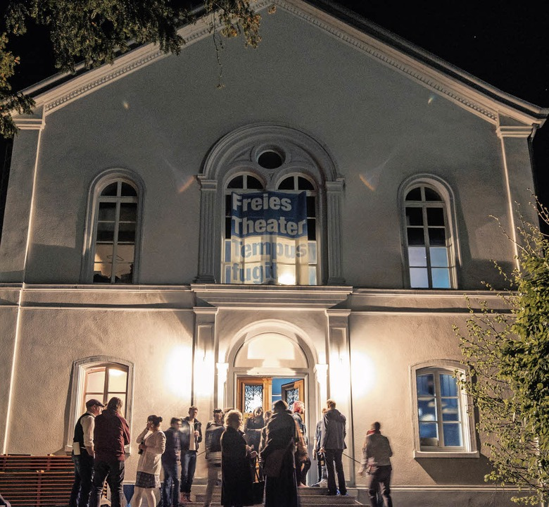 Lörrach hat ein Theater: Das Haus von ...lange auf diesen Tage gewartet haben.     Foto: Ansgar Taschinski