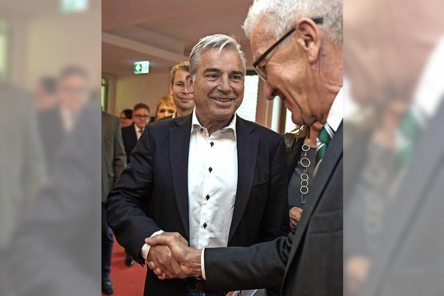 Grüne und CDU vereinbaren Ressortverteilung