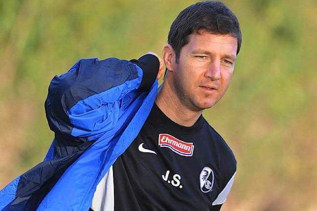 SC-Sportvorstand Jochen Saier: