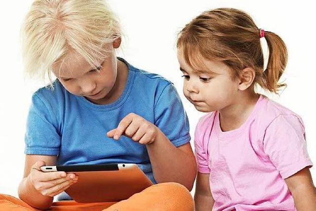 Touch-Screen-Computer für Kindergarten