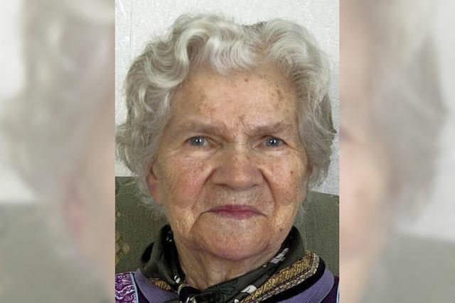 Elfriede Ziebold feiert 85. Geburtstag