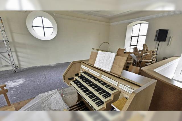 Viel Krimskrams fürs Orgelprojekt