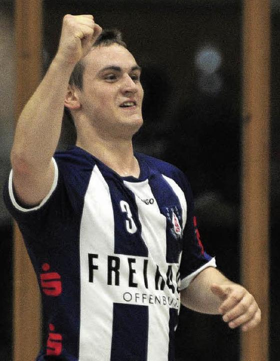 Florian Kopf spielte eine starke Saison.     Foto:  Bettina Schaller