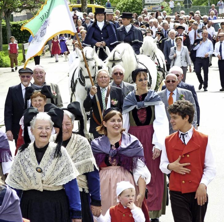 Wenn sich Hebels Geburtstag jährt, lac.... Mai 2012, als dieses Foto entstand.   | Foto: archivbild: dirk sattelberger