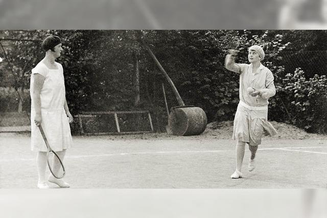 Schon vor 80 Jahren wurde in Todtnau Tennis gespielt