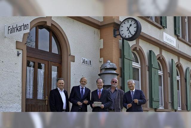 Kandertalbahn kauft die Trasse für einen Euro