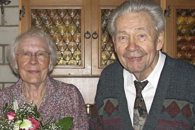 60 Jahre gemeinsam durchs Leben gegangen