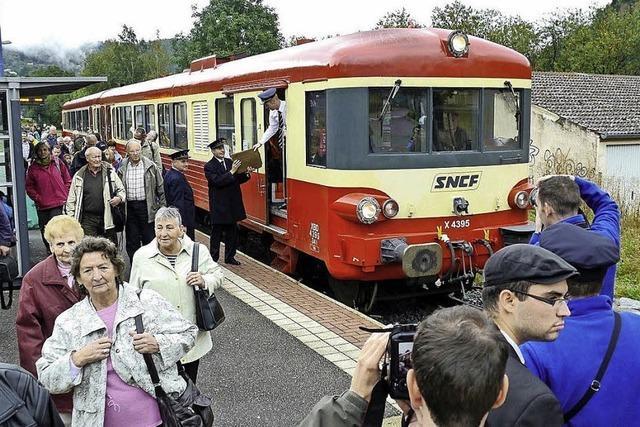 Eisenbahn-Sonderfahrt in die Vogesen