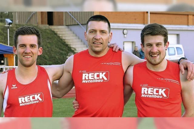 Siegreiches Riegeler Staffel-Trio