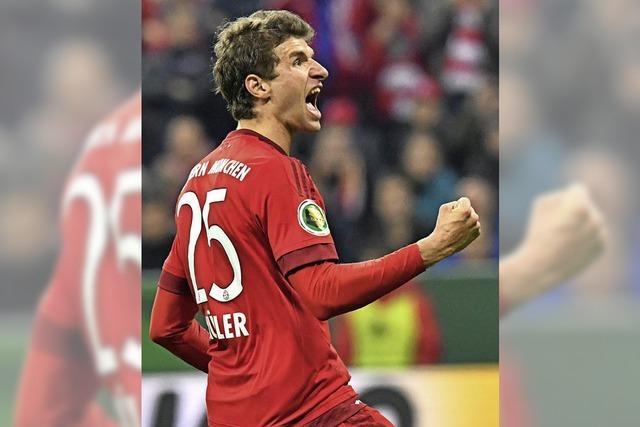 Mit Leidenschaft will der FC Bayern ins Finale