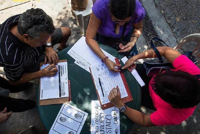 Nun steht Venezuela vor der Staatspleite