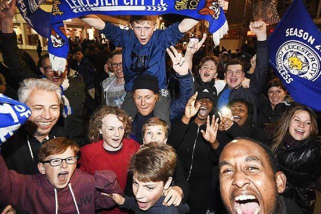 Leicester City ist Meister, Fans außer Rand und Band
