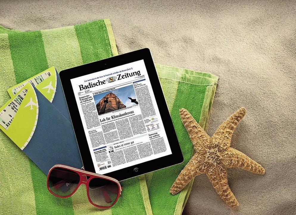Digitale BZ im Urlaub   | Foto: BZ
