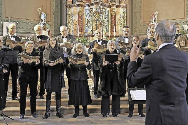 Kammerchor Ettenheim singt Werke von John Dowland und Zeitgenossen